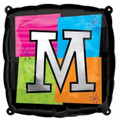 Letter Balloons - M - 18 Inch - Square
