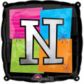 Letter Balloons - N - 18 Inch - Square