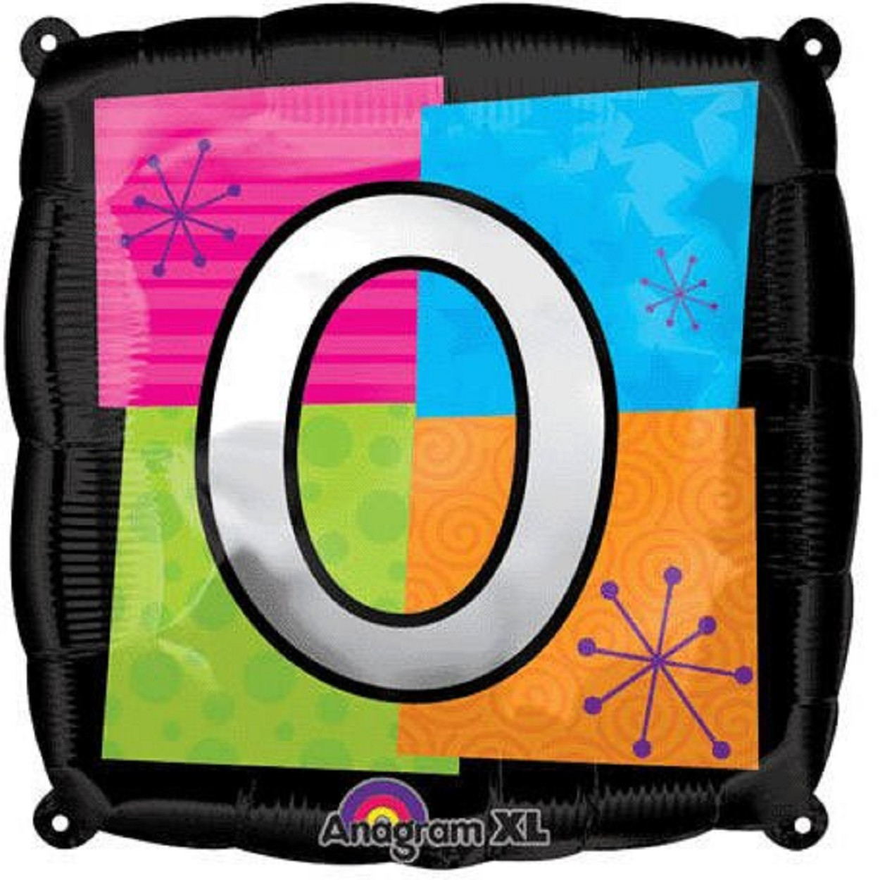 Letter Balloons - O - 18 Inch - Square