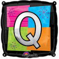 Letter Balloons - Q - 18 Inch - Square