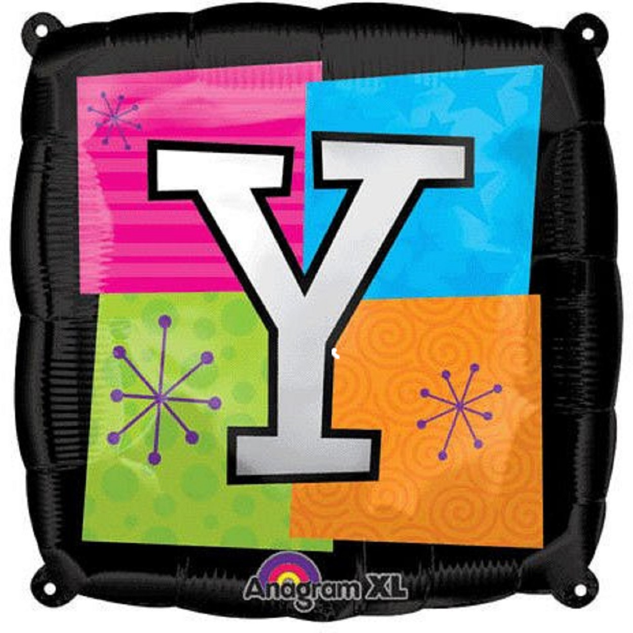 Letter Balloons - Y - 18 Inch - Square