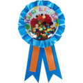 Party Favors - Elmo - Confetti Award Ribbon - 1pc