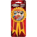 Party Favors - Power Rangers - Confetti Award Ribbon - 1pc