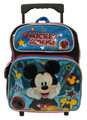 Mickey Mouse Small Rolling 12 inch Backpack (Blue)