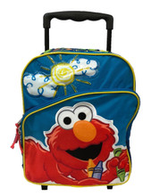 Elmo Small Rolling 12 inch Backpack