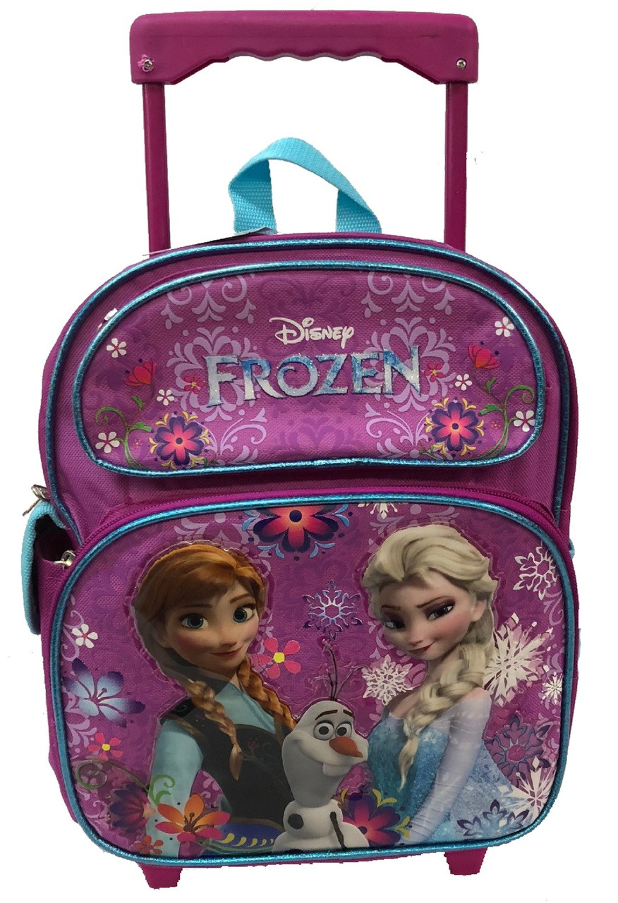 7891926cc3b2 Rolling Backpack - Frozen - Small 12 Inch - Anna - Elsa