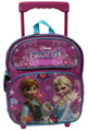 Frozen Small Rolling 12 Inch Backpack - Anna and Elsa