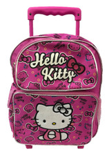 Hello Kitty Small Rolling 12 inch Backpack