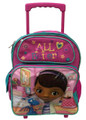 Doc McStuffins Small Rolling 12 inch Backpack
