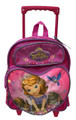 Sofia the First Small Rolling 12 inch Backpack