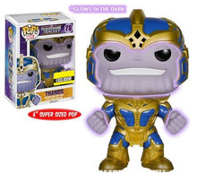 Thanos Glow-in-the-Dark 6-Inch Pop Vinyl Bobble Head Figure