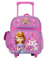 Backpack - Sofia the First - Small Rolling - 12 inch - Purple