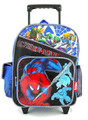 Backpack - Spiderman - Small Rolling - 12 inch - Blue