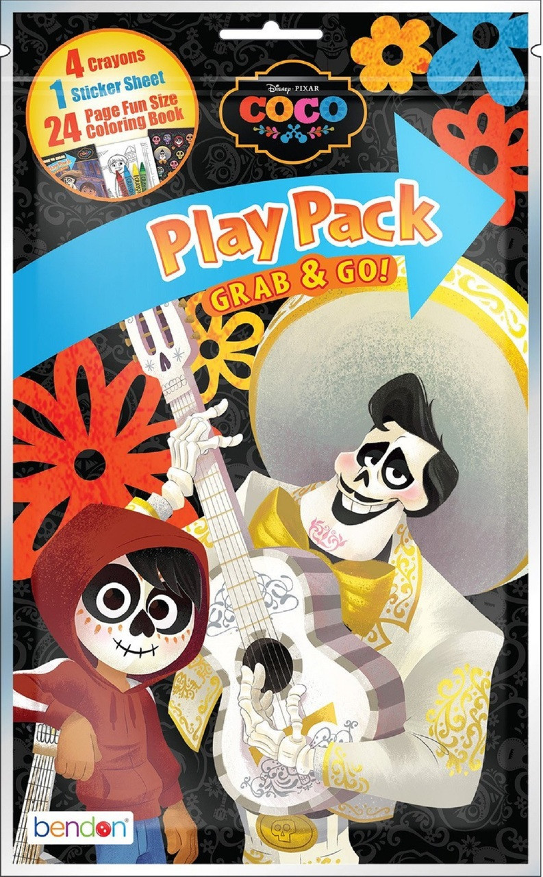 Coco Grab N Go Play Pack Party Favors 1pc