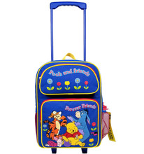 Winnie the Pooh Large 16 Inch Rolling Backpack