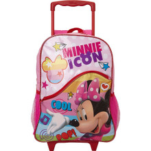 Minnie Mouse Large 16 Inch Rolling Backpack