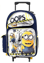 Despicable Me Minions Large 16 Inch Rolling Backpack