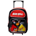 Angry Birds - Large 16 Inch - Rolling Backpack - 3 Birds