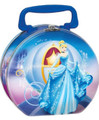 Cinderella - Collectible Tin Box - Round - Party Favors