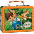 Diego - Orange - Collectible Tin Box - Party Favors