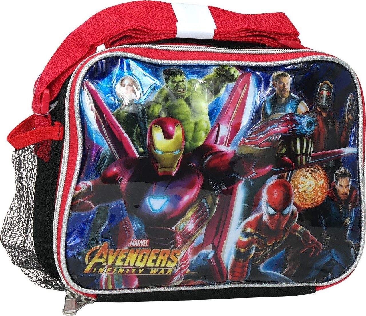Lunch Box - Avengers: Infinity Wars - Insulated - Red