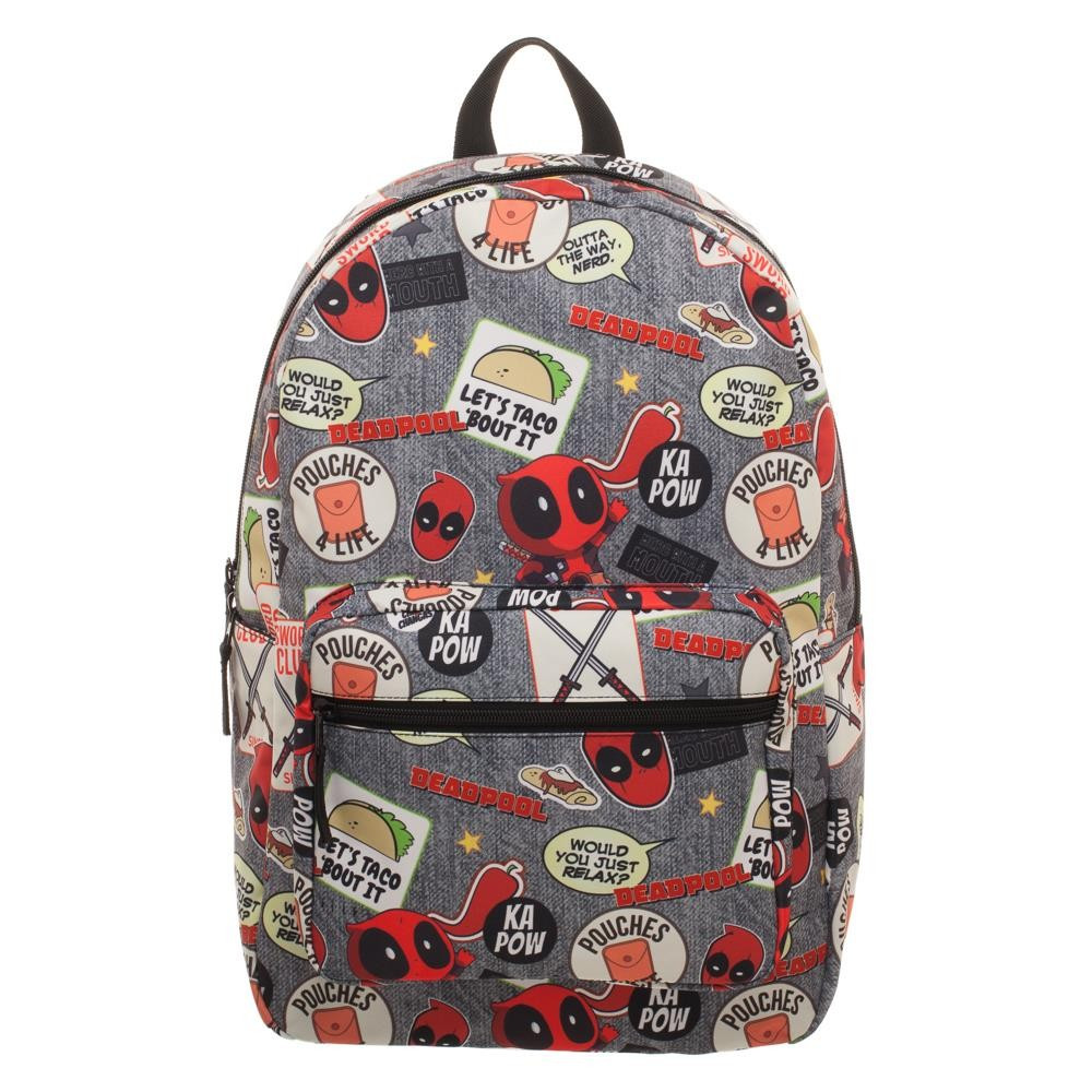 Deadpool Large 17 inch Backpack