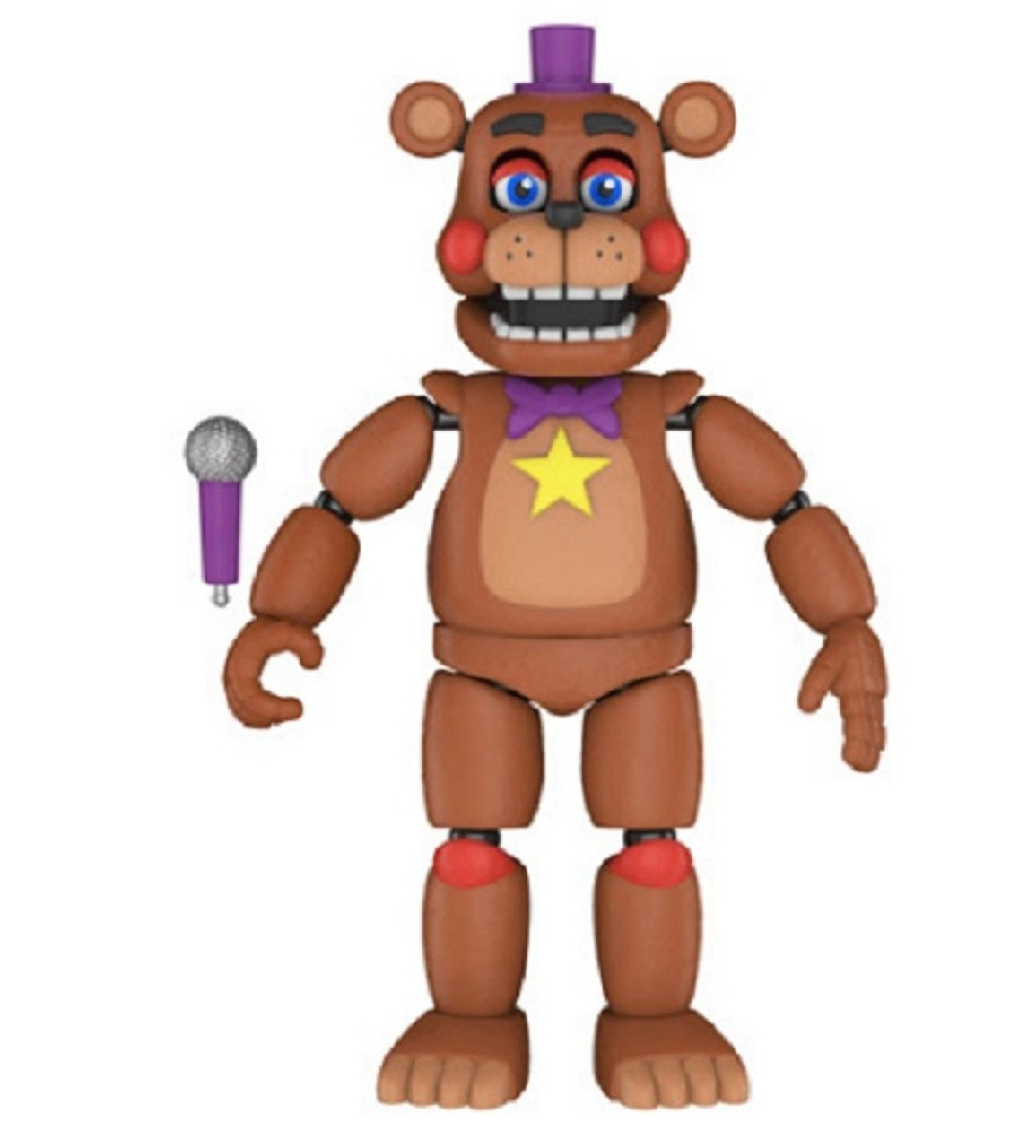 Action Figure: Five Nights at Freddy's Pizza Sim - Rockstar Freddy