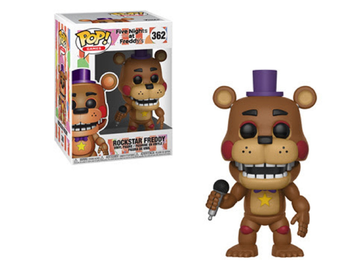 Funko Pop! Games Five Nights at Freddy's Pizza Sim Rockstar Freddy Vinyl Figure