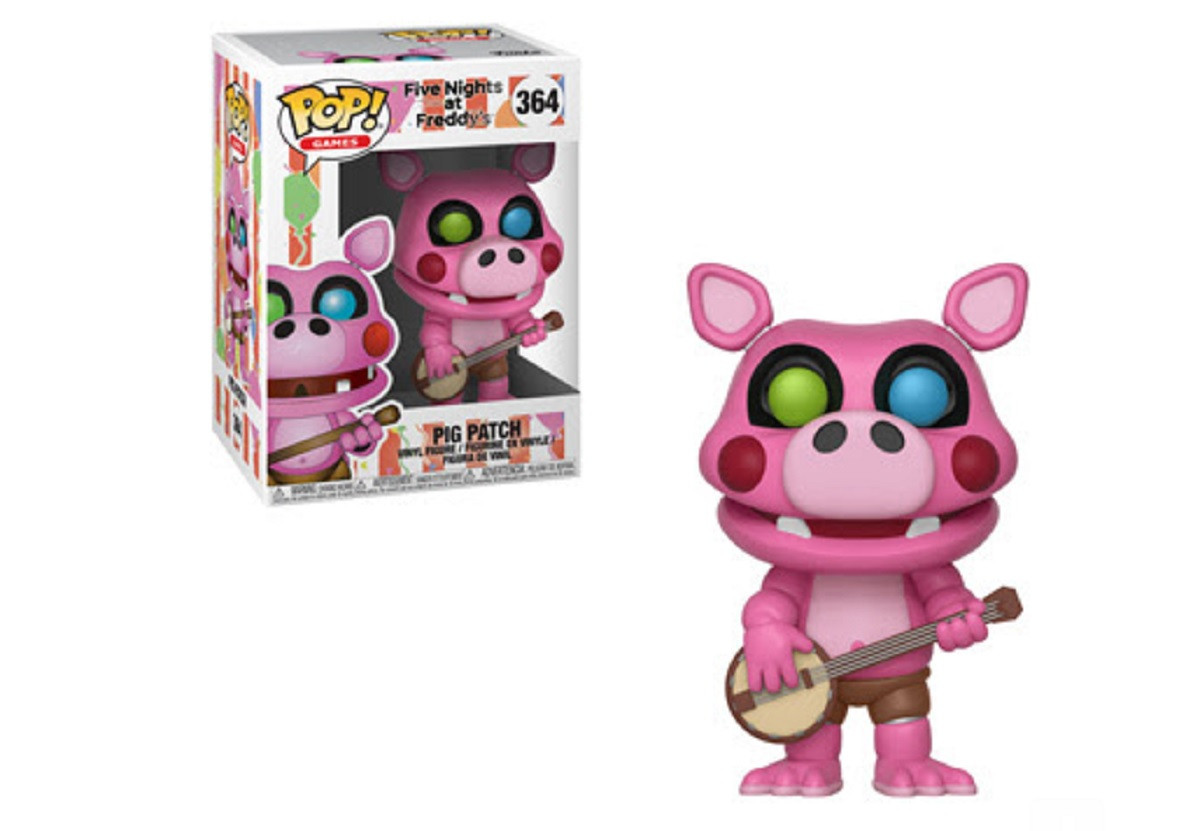 Funko Pop! Five Nights at Freddy's Pizza Sim Pigpatch Vinyl Figure