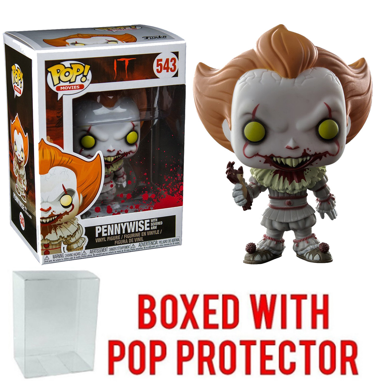 Funko Pop! Movies IT Pennywise w/ Severed Arm Vinyl Figure
