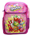 Backpack - Shopkins - Large 16 Inches - Pink Purple