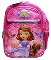 Backpack - Sofia the First - Large 16 Inches - Pink