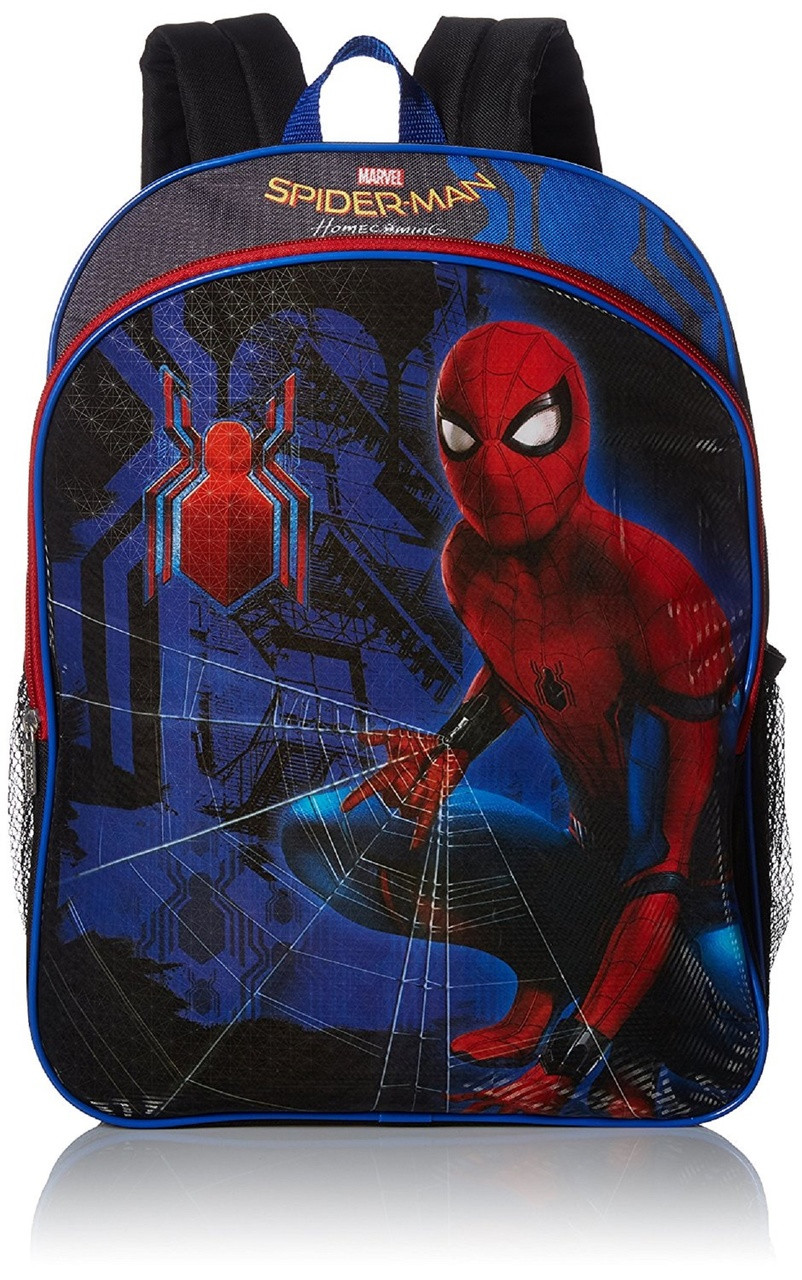 Backpack - Spiderman - Large 16 Inches - Lite Up