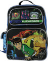 Backpack - Ben 10 - Large 16 Inches - Blue Black