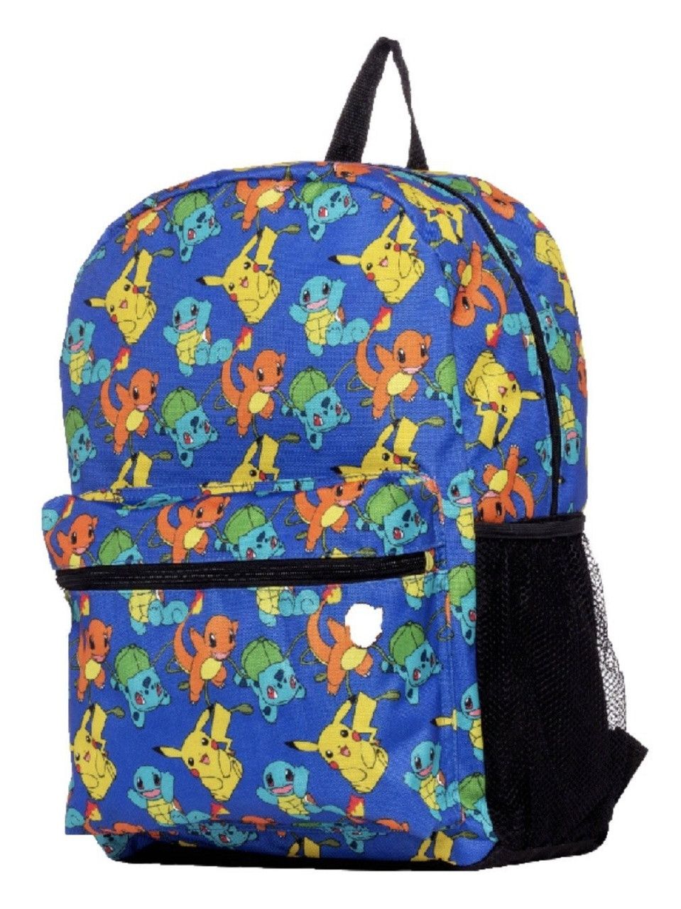 Backpack - Pokemon - Large 16 Inches - Charmander Pikachu Squirtle