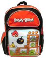 Backpack - Angry Birds - Large 16 Inch - 3D Image