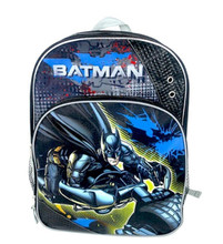 Backpack - Batman - Large 16 Inch - On Bike