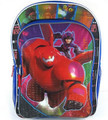 Backpack - Big Hero 6 - Large 16 Inch - Red Baymax