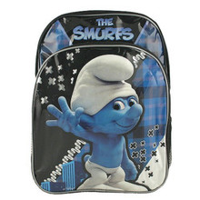 Backpack - Smurfs - Large 16 Inch - Blue