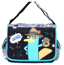 Phineas and Ferb Messenger Bag Backpack - Doo-Bee Doo-Bee Doo