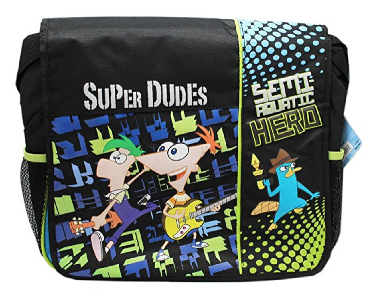 Phineas and Ferb Messenger Bag Backpack