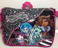 Backpack - Monster High - Messenger Bag - Black White