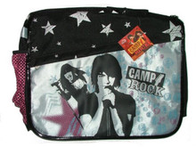 Backpack - Camp Rock - Messenger Bag - Black Silver