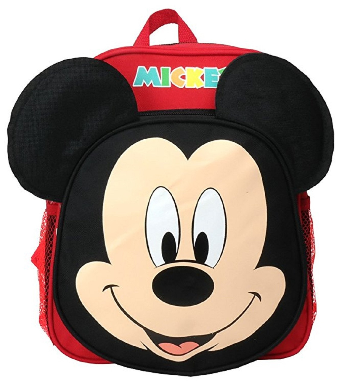 Backpack - Mickey Mouse - Small 12 Inch - Face