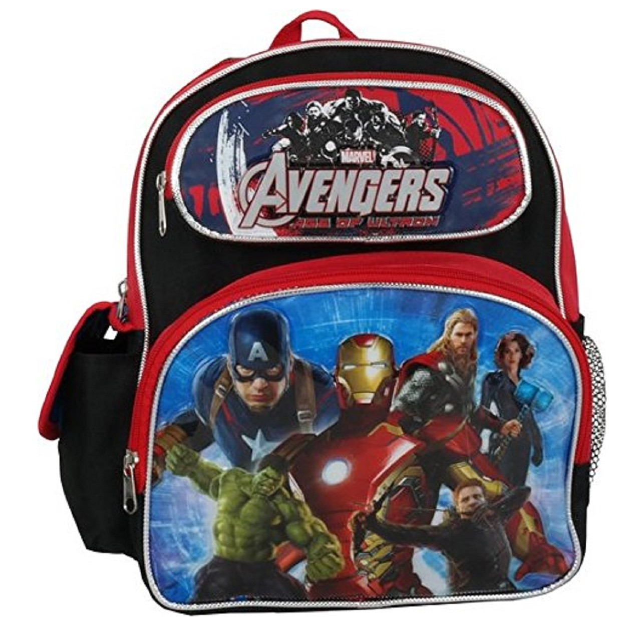 Avengers Small 12 Inch Red Backpack