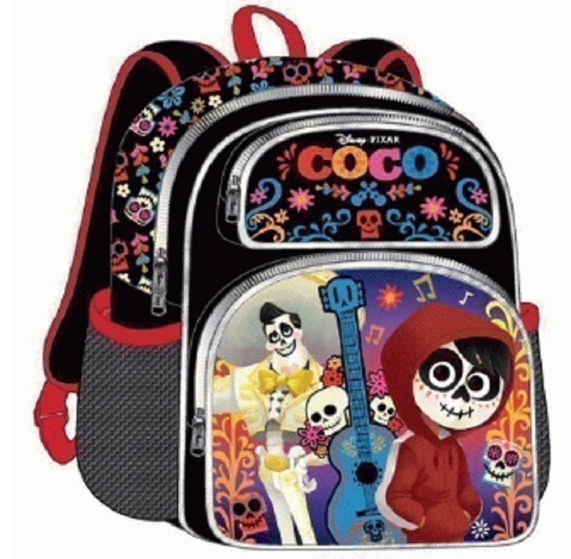 COCO - Small 12 Inch - 3D - Black - Backpack