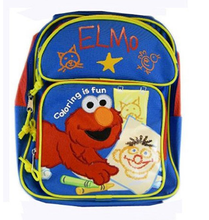 Backpack - Elmo - Small 12 Inch - Coloring is Fun