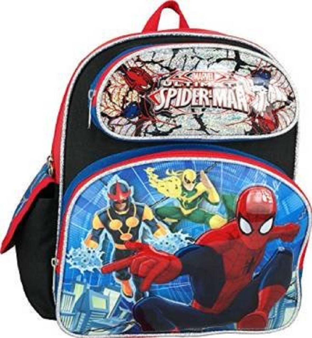 Backpack - Spiderman - Small 12 Inch - Ironfist Pictured