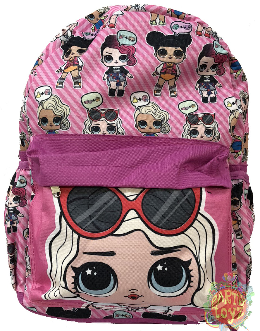 Backpack - LOL Surprise - Large 16 Inch - Pink Purple