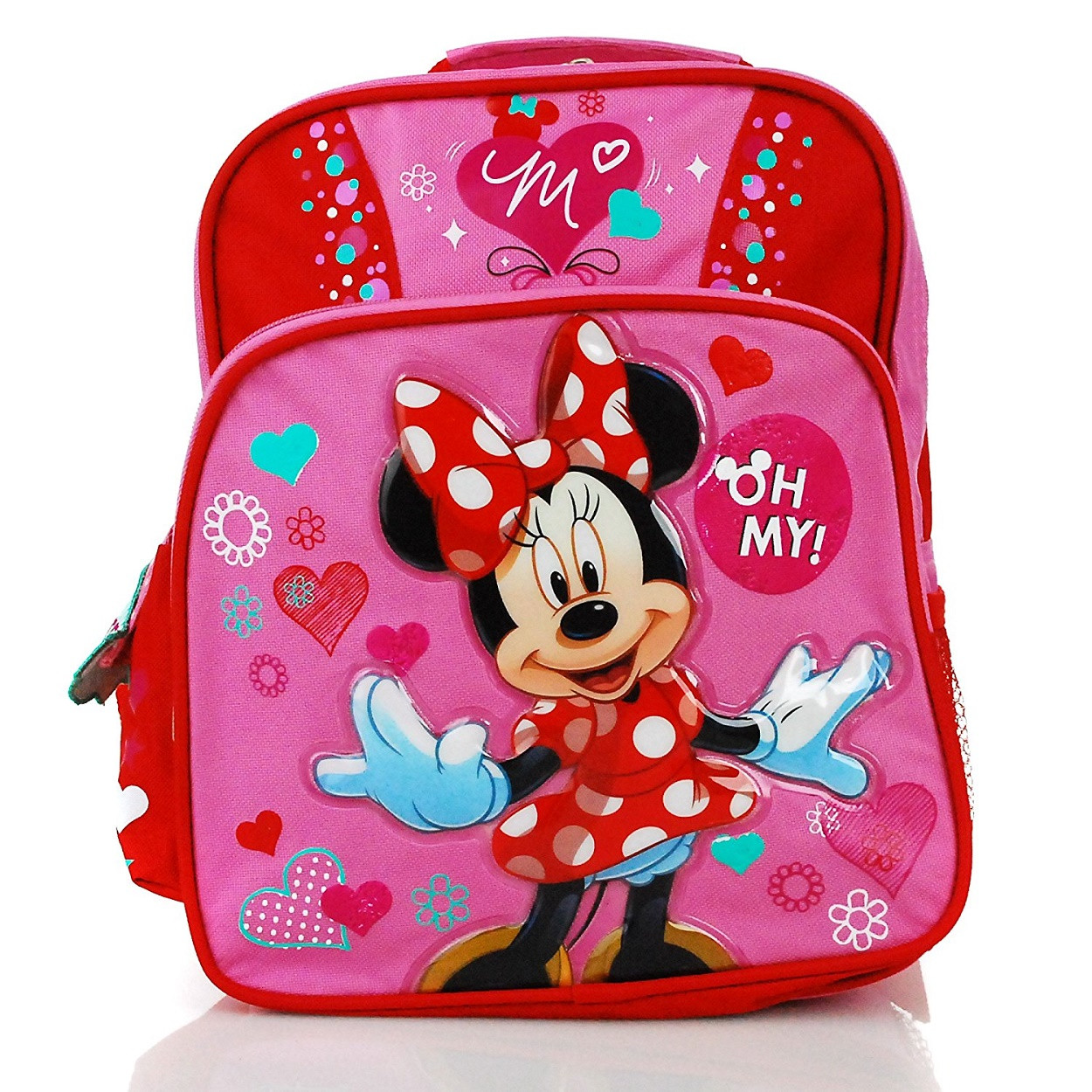 874d3926ced Backpack - Minnie Mouse - Small 12 Inch - Oh My!